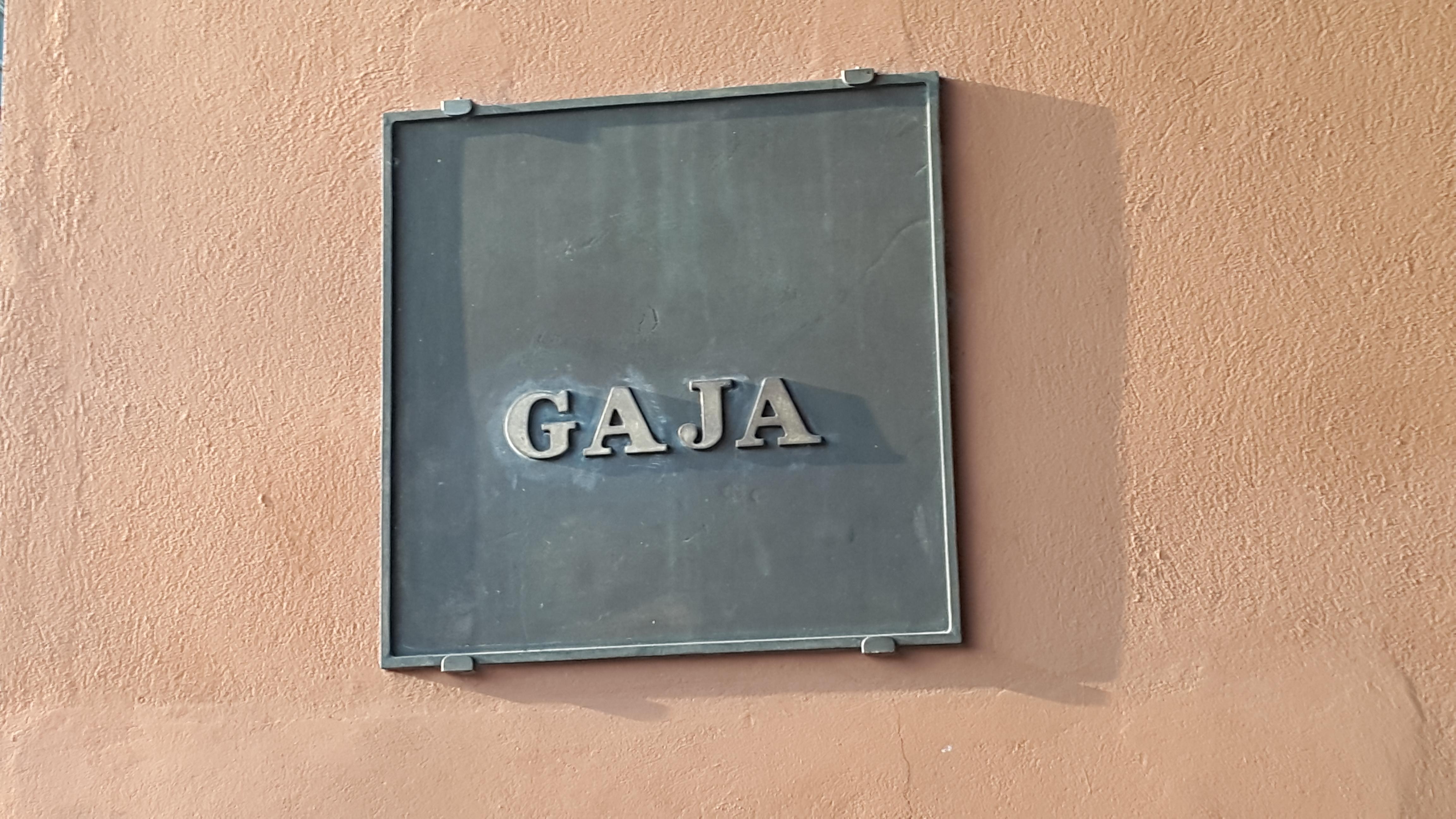TARGA GAJA